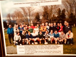Legends RC Inaugural Game March 6 1988 Vancouver Canada