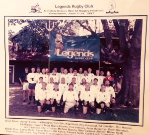 Legends RC 1997 Golden Oldies World Rugby Festival Vancouver Canada June 1997